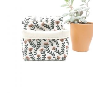 Lingettes coton biologique zozoï création collection aliénor