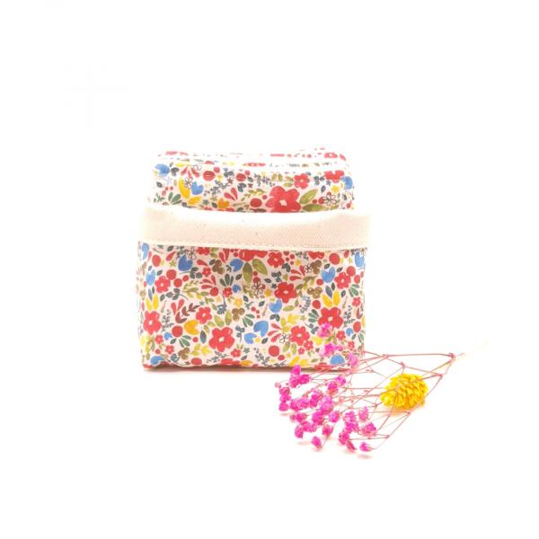 Lingettes coton biologique zozoï création collection fleurettes