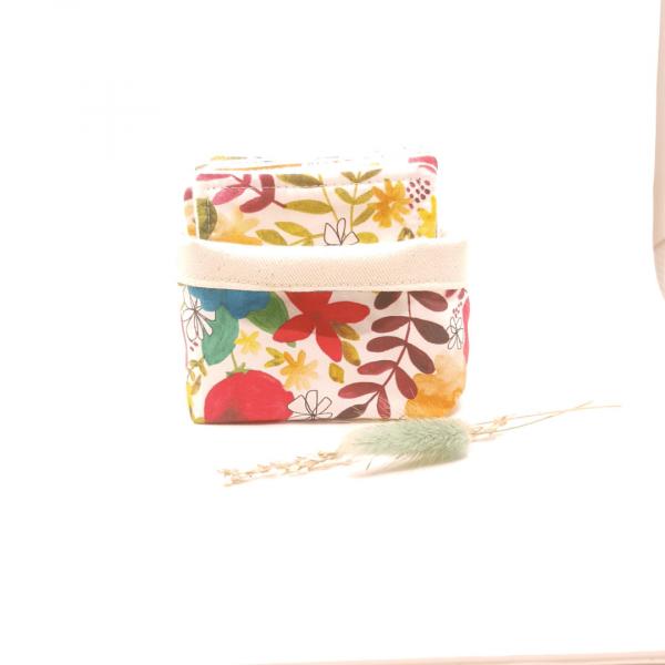 Lingettes coton biologique zozoï création collection fleurs