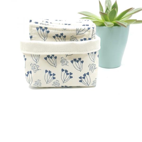 Lingettes coton biologique zozoï création collection fleur en bouquet